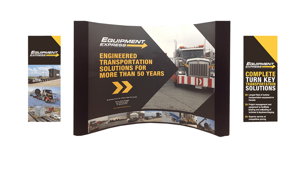 Equipment Express Trade Show Banner